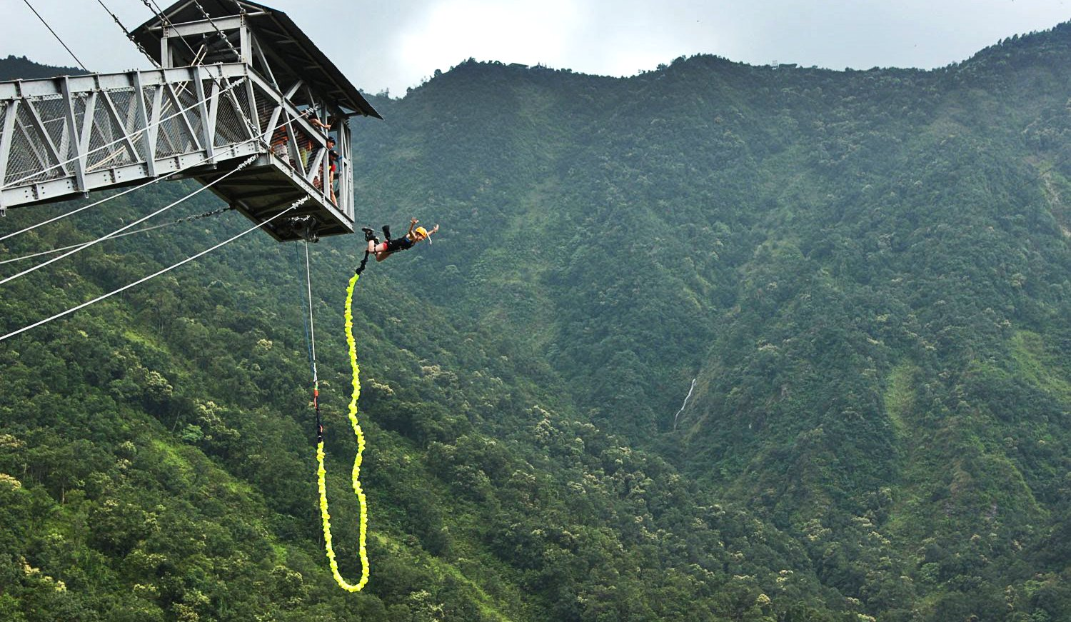 Zip Line Harness >> Things to do in Pokhara , Nepal - Sunrise Adventure Trek