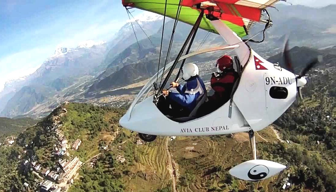 Ultra-Light Flight in Pokhara